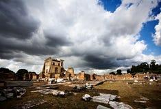 Римский форум, Рим Стоковые Фото