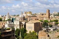 Римский форум северный стоковая фотография rf