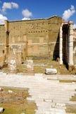 Римский форум, центр ` s Рима исторический, Италия Стоковые Изображения RF