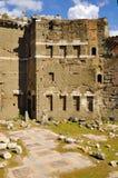 Римский форум, центр ` s Рима исторический, Италия Стоковое фото RF