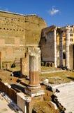 Римский форум, центр ` s Рима исторический, Италия Стоковые Изображения