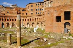 Римский форум, центр ` s Рима исторический, Италия Стоковые Фото