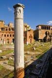 Римский форум, центр ` s Рима исторический, Италия Стоковое Фото