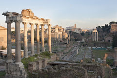 Римский форум Стоковые Фото