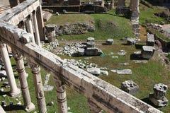 Римский форум Стоковое Изображение RF