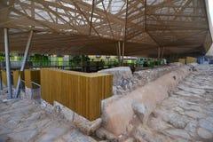 Римский форум Cartagena Испания стоковое изображение rf