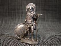 Римский центурион с спартанским экраном стоковые изображения rf