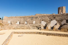 Римский цирк в Таррагоне стоковое изображение