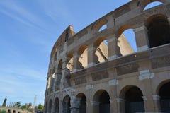Римский экстерьер Colosseum Стоковая Фотография