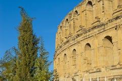 римское амфитеатра стародедовское Стоковое Изображение RF