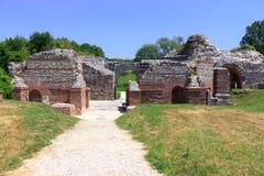 Римское археологическое место, Gamzigrad Стоковые Изображения RF