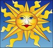 римское солнце Стоковые Фотографии RF