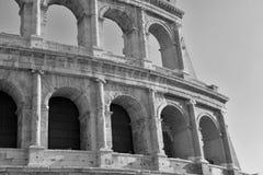 Римское Colosseum, место где воевать гладиаторы так же, как был местом для общественных развлечений, Римом стоковое изображение rf