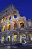 Римское Colosseum, место где воевать гладиаторы так же, как был местом для общественных развлечений, Римом стоковые изображения