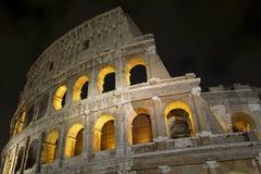 Римское Colosseum, место где воевать гладиаторы так же, как был местом для общественных развлечений, Римом стоковое фото