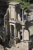 римское volterra театра Стоковые Фото
