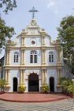 Римско-католическая церковь в Индии стоковые фото