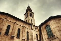 Римско-католическая церковь в Париже стоковое изображение rf