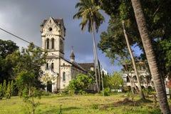 Римско-католическая церковь - Bagamoyo стоковая фотография rf