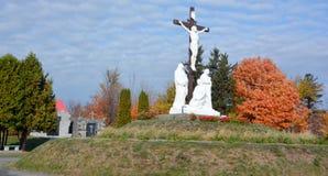 Римско-католическое кладбище Стоковые Фотографии RF