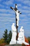 Римско-католическое кладбище Стоковая Фотография
