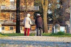 РИМ, ИТАЛИЯ - 14-ое марта 2015: Люди в квадрате в центре города Стоковые Фото
