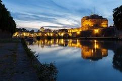 Рим, Италия - замок Святого Angelo стоковые фото