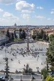 Аркада del popolo в Риме Стоковая Фотография RF