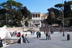 Турист в Риме Стоковая Фотография RF