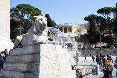 Турист в Риме Стоковые Фотографии RF