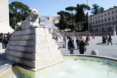 Турист в Риме Стоковые Изображения RF