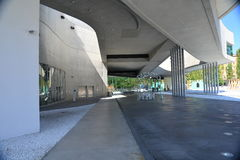 Рим, Италия, музей Maxxi современного искусства стоковые изображения rf