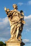 Рим, Италия - статуя ангела стоковое фото rf