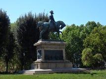 Рим - король Carlo Альберто на Quirinale Стоковые Фотографии RF