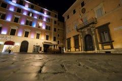 Рим к ночь, различная точка зрения стоковые фотографии rf