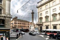 Рим, Лацио, Италия 22-ое августа 2017: Пост наведения Carabin стоковая фотография rf