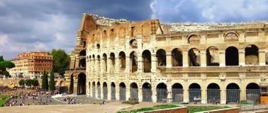 Рим, панорамный взгляд с Colosseo Стоковая Фотография
