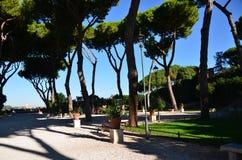 Рим, природный парк стоковое фото