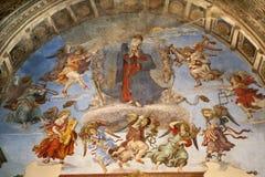 Рим - святейший Mary в рае стоковые фото