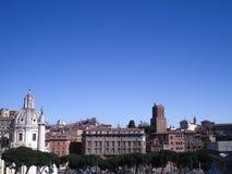 Рим совсем вокруг Стоковые Фотографии RF