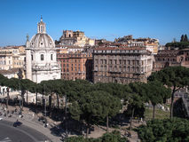Рим совсем вокруг Стоковая Фотография RF