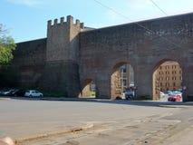 Рим - стены рассвета Стоковые Фотографии RF