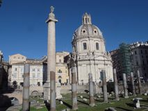 Рим форум Trajan стоковое изображение
