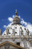 Рим - Baslilica di san pietro Стоковые Фотографии RF