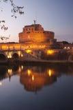 Рим, Castel Sant'Angelo Стоковое Изображение RF