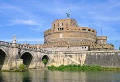 Рим Castel Sant Angelo Стоковое Фото