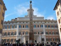 Рим - Palazzo Montecitorio стоковые фотографии rf