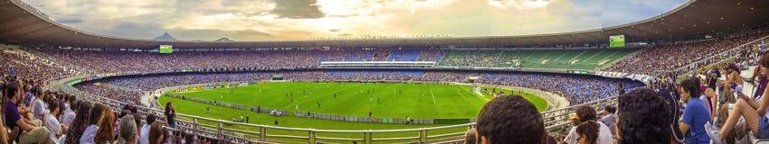 РИО-ДЕ-ЖАНЕЙРО, БРАЗИЛИЯ - 12-ОЕ ДЕКАБРЯ: Панорамный взгляд старого Marac Стоковые Изображения RF