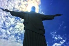 Рио-де-Жанейро, Cristo Redentor Стоковое Фото
