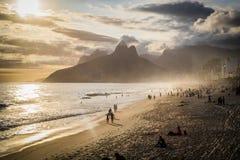 Рио-де-Жанейро Ipanema Стоковое фото RF